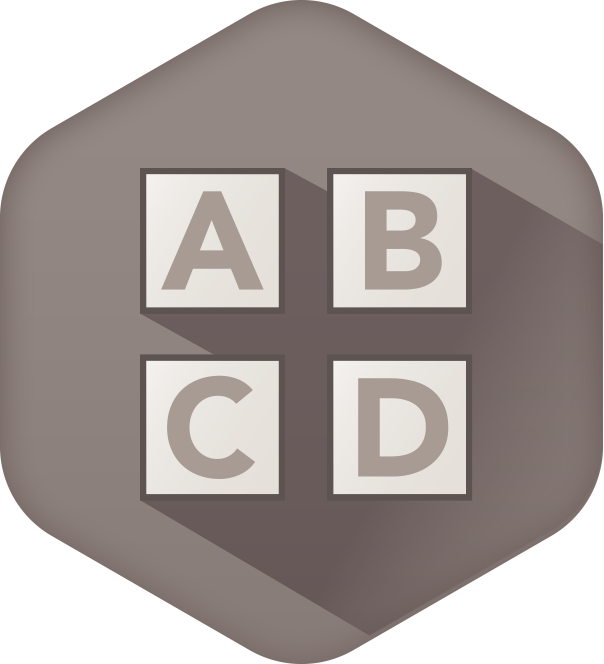 ABCD options icon